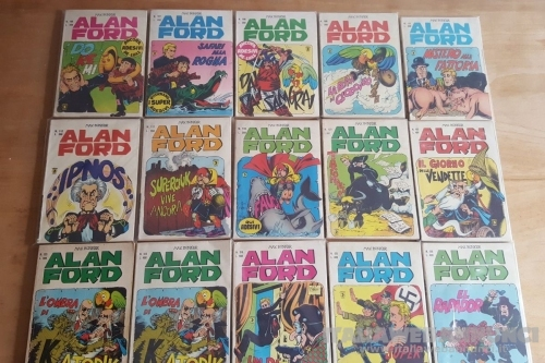 ALAN FORD fumetti digitali in formato PDF