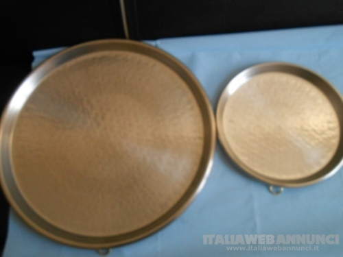 teglie teglia pentola rame massiccio per pizza farinata
