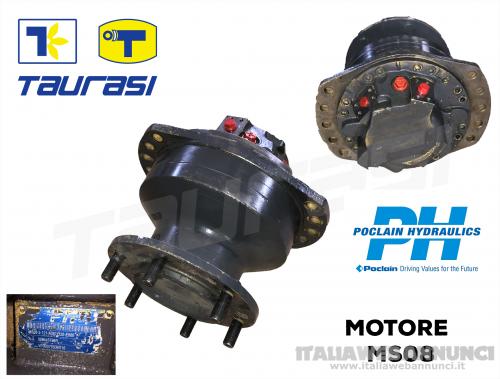 Poclain Ricambi Motore MS08