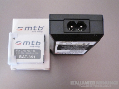 MTB DIGI CHARGER DCL-638 CA-NB 11L +2BATT. LI-ION