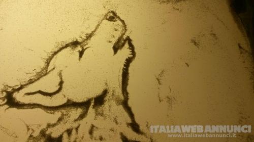 Corso sand art -video corso - corso in aula -