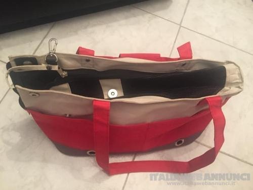 Trasportino borsetta rosso
