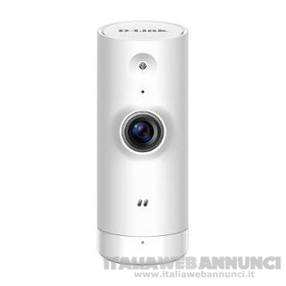 Mini HD IP Cam HD Interna Wi-Fi Bianco