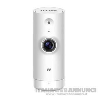 Mini HD IP Cam HD Interna Wi-Fi Bianco