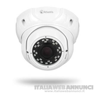AHD-510DV Cam Analogica Indoor Dome 1MP Bianco
