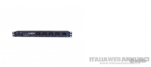 Accesso e controllo remoto via RS-232, RJ-45, rack 19