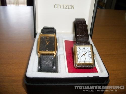 n 2 orologi citizen mai usati vendo