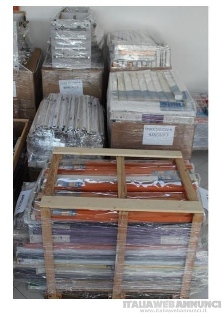 Stock vendita fallimentare di  ferramenta brico 160bancali