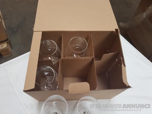 Stock di stoviglie, ceramiche e bicchieri di vetro - Air Italy