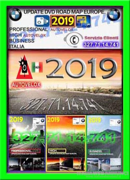 USB CD DVD BMW 2019 MAPPE AGGIORNAMENTO NAVIGATORE BMW 2019 MAPPA