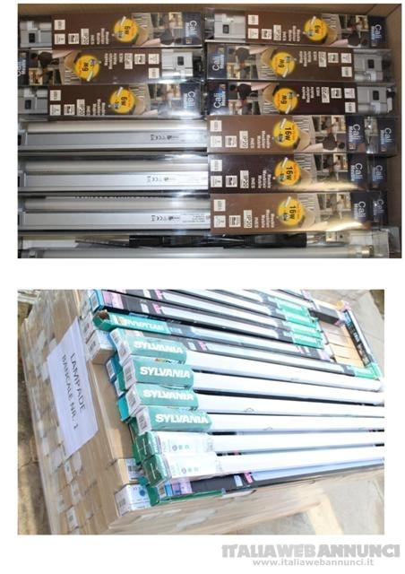 Stock  articoli illuminazione 870 pezzi
