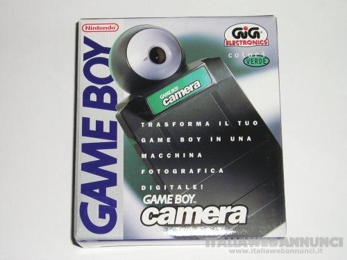 Game boy camera nintendo