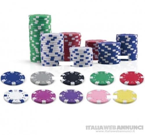 500 FICHES vari colori - juego