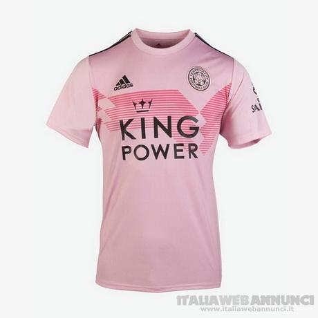 maglia Leicester City 2020 seconda