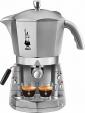 Bialetti Macchina Caffè Espresso Manuale cialde/capsule MOKONA SILVER