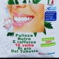 Dentifricio in polvere, antibatterico, 100% commestibile