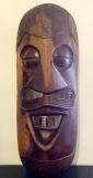 maschera in legno africana
