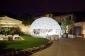 Cupola geodetica per eventi, fiere e spettacoli