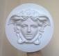 Medusa scultura, modello tipo Versace diametro 20 cm