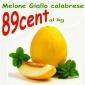 Melone giallo calabrese ad € 0.89/kg