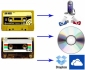 Riversamento audiocassette in file Mp3/Wav su CD DVD HDD DropBox