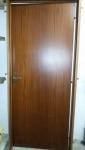 Porta in legno noce con telaio 200 x 80
