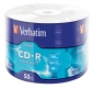 50 cd-r verbatim vergini 52x 700 mb extra protection