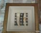 Quadro originale cinese epoca XIX SECOLO Dimensioni 41.5x41.5 x 6