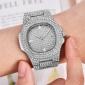Diamond watch unisex